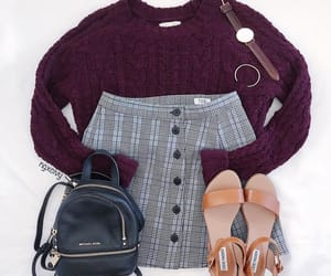 accesories, brown, and burgundy image