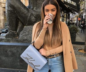 beauty, coffee, and goals image