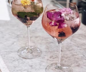 drink, delicious, and pink image