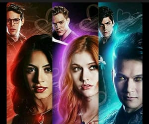 clary fray, alec lightwood, and maleç image