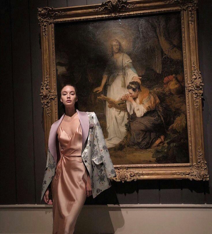 fashion, art, and girl image