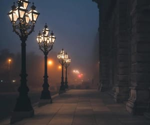 night, light, and photography image