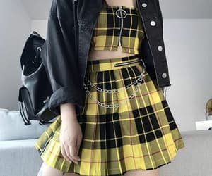 grunge, outfit, and aesthetic image