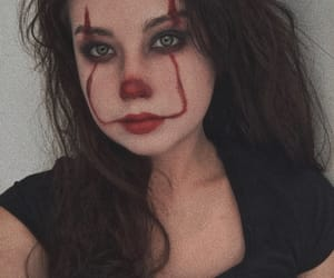 clown, cosplay, and Halloween image