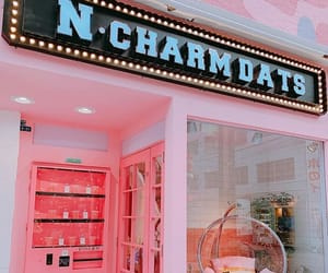 girly, store, and pink image