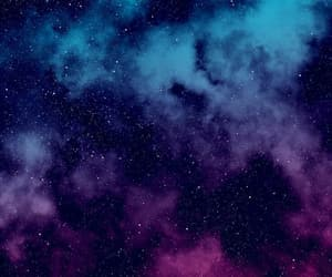wallpaper, stars, and galaxy image