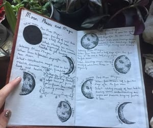 moon, magic, and aesthetic image