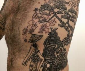 samurai, Tattoos, and mbeede image