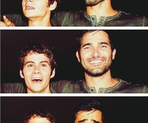 teen wolf, tyler hoechlin, and dylan o'brien image