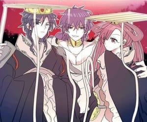 magi, judar, and hakuryuu image