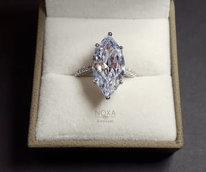 diamond, ring, and jewels image