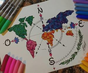colores, mundo, and Sharpie image