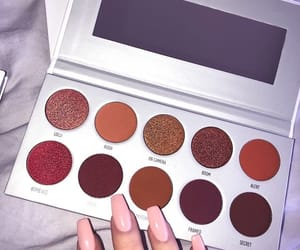 beauty, nails, and palette image