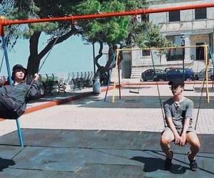 boyfriends, jungkook, and park jimin image