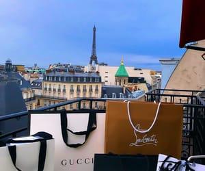 gucci, paris, and shopping image