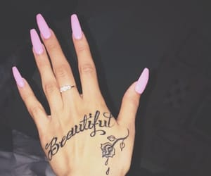 nails, tattoo, and beautiful image