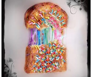 bread, candy, and color image