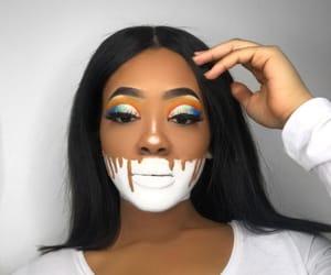 makeup, Halloween, and make image