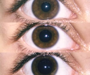 drugs, eyes, and girl image