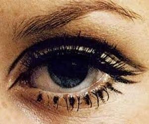twiggy, eye, and 60s image