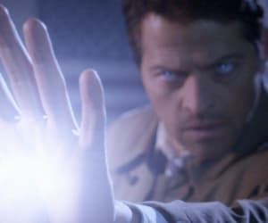 header, misha collins, and supernatural image