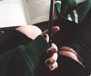 aesthetic and slytherin image