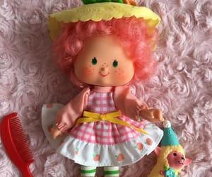 dolls, 80s, and strawberry shortcake image