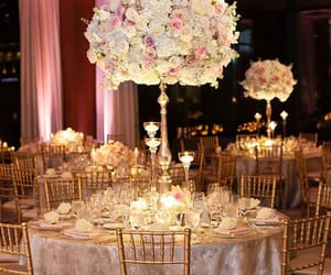 candles, centerpieces, and ceremony image