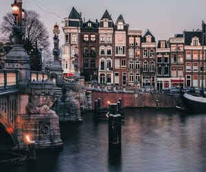amsterdam, autumn, and buildings image