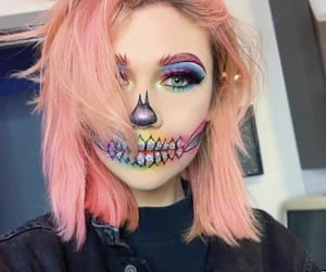 Halloween, jessie paege, and makeup image