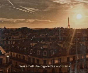 quotes, paris, and cigarettes image