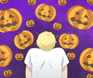 Halloween, jack o lantern, and pumpkin image