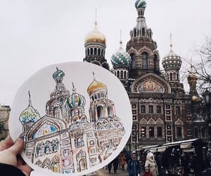 drawing, foto, and russia image