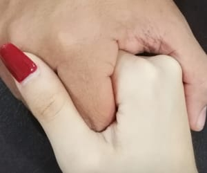 couple, Relationship, and couple hands image