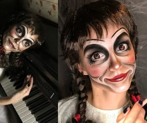 carnival, Halloween, and annabelle image