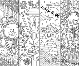 coloring, printable art, and bookmarks image