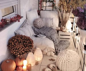 home, autumn, and design image