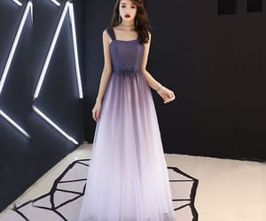 fashion, girl, and prom dress image