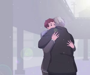 Connor, fanart, and Hank image