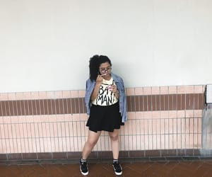 curls, girl, and look image
