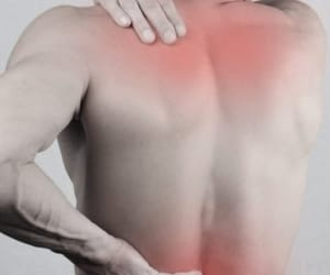 neck pain, sore muscles, and muscle aches image