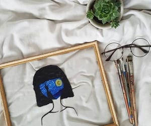 art, drawing, and van gogh image