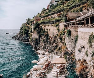 Amalfi, italy, and beach image
