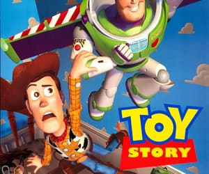 movie poster, toy story, and walt disney studios image