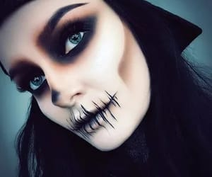Halloween, makeup, and maquillage image