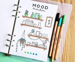 agenda, studyblr, and bullet journal image