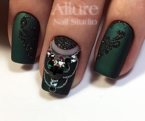 design, green, and nails image