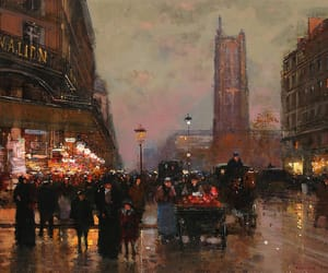 edouard cortes and tower saint jacques image