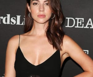 beauty, brunette, and adelaide kane image
