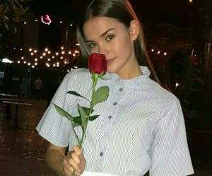 girl, maia mitchell, and rose image
